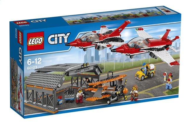 Afbeelding van LEGO City 60103 Vliegveld luchtvaartshow from DreamLand