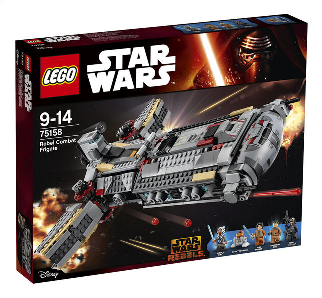 Afbeelding van LEGO Star Wars 75158 Rebel Combat Frigate from DreamLand