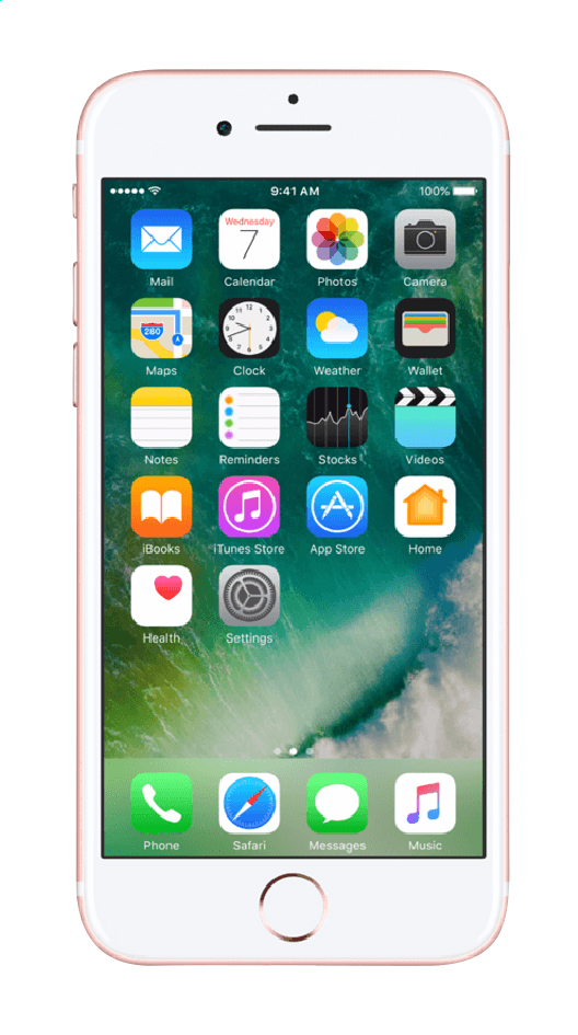 Image pour Apple iPhone 7 32 Go or rose à partir de DreamLand