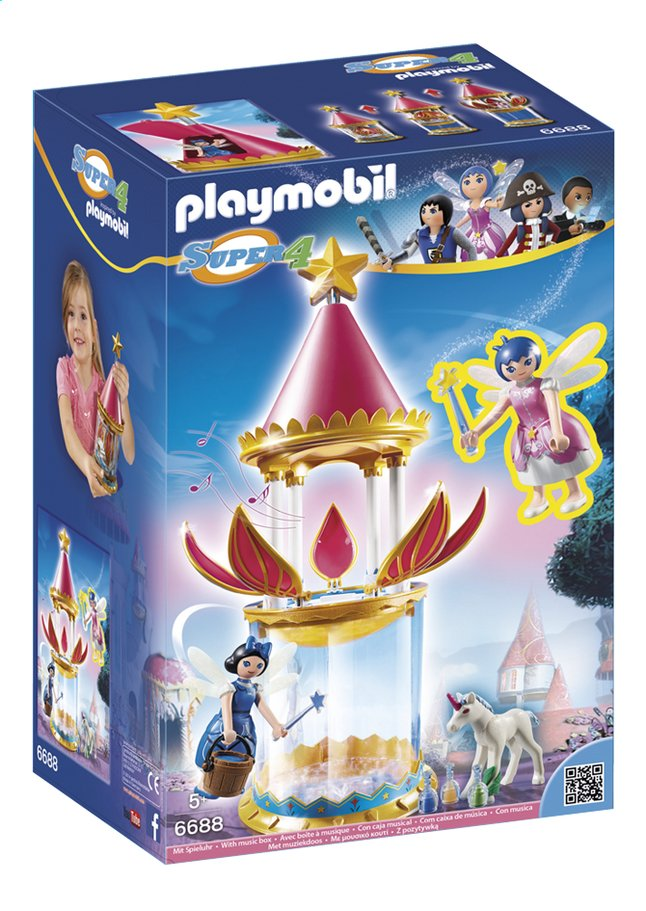 Image pour Playmobil Super 4 6688 Tourelle musicale avec Étincelle à partir de DreamLand