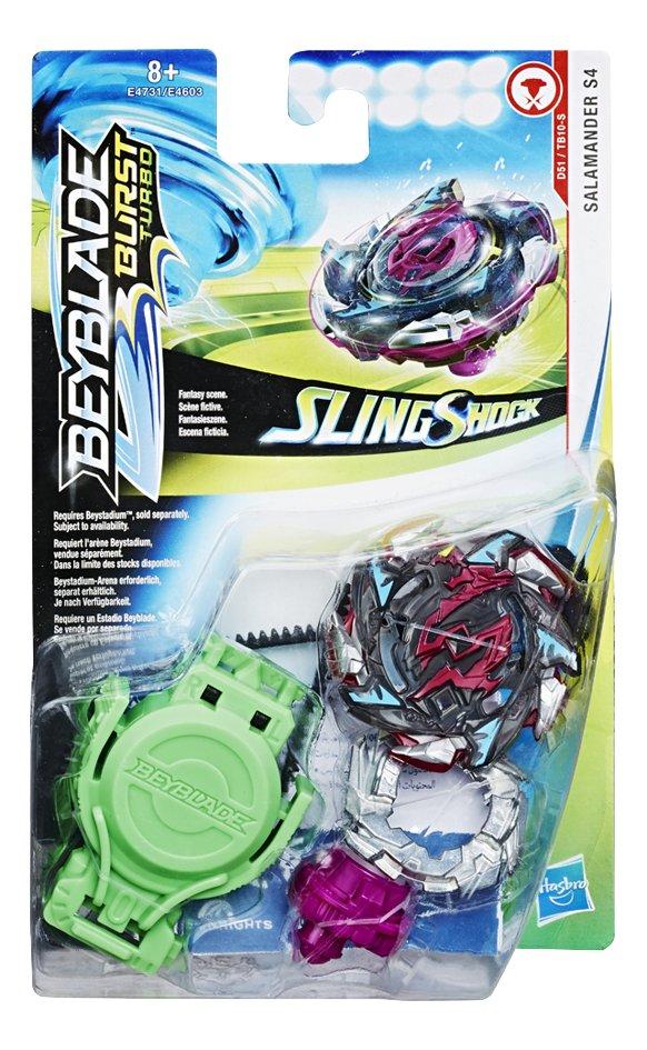 Afbeelding van Beyblade Burst Turbo SlingShock Starter Pack - Salamander S4 from DreamLand