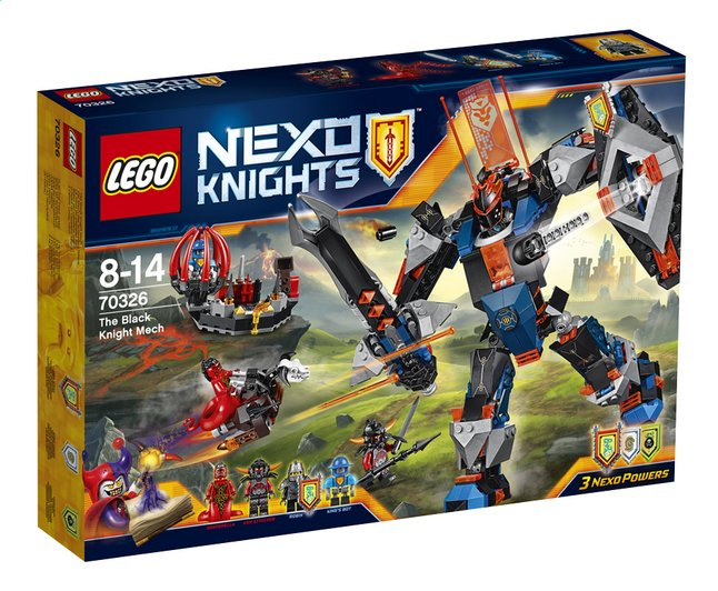 Image pour LEGO Nexo Knights 70326 Le robot du chevalier noir à partir de DreamLand