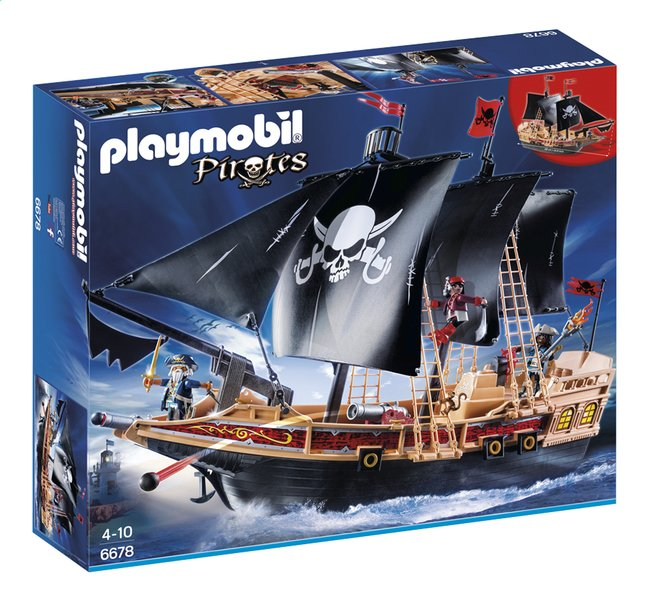 Afbeelding van PLAYMOBIL Pirates 6678 Piraten aanvalsschip from DreamLand