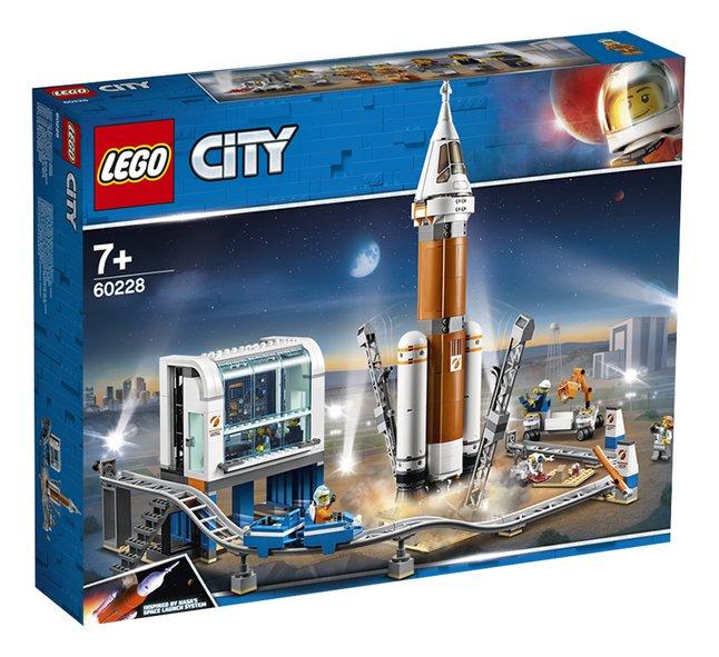 Afbeelding van LEGO City 60228 Ruimteraket en vluchtleiding from DreamLand