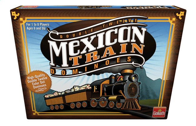 Afbeelding van Mexican Train Dominoes from DreamLand