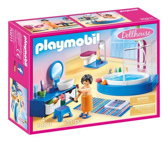 Playmobil Dollhouse 70211 Badkamer Met Ligbad Kopen Bestel Eenvoudig Online Dreamland