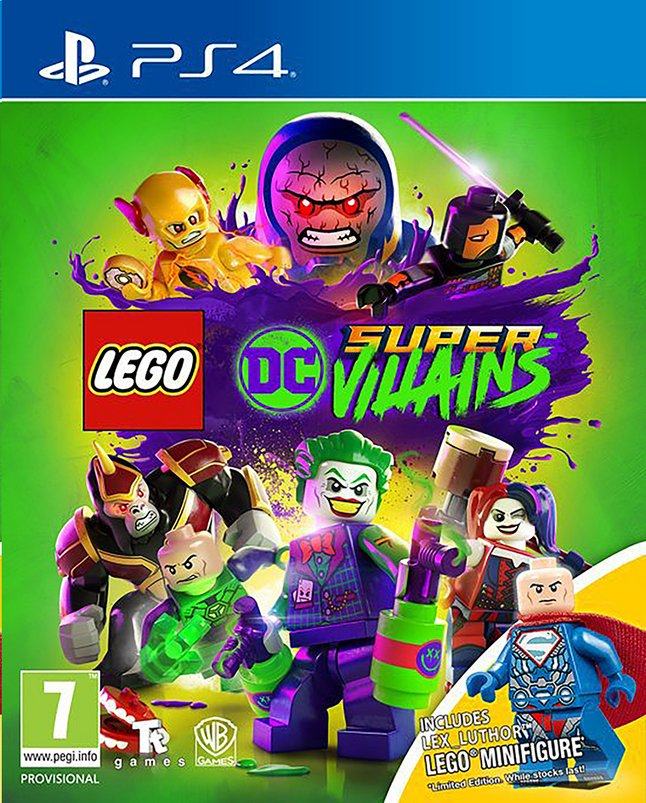 PS4 LEGO DC Super-Villains + LEGO Minifigure NL/FR