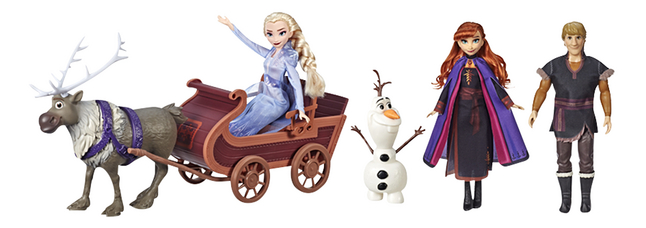 Disney Frozen II Slee avonturen