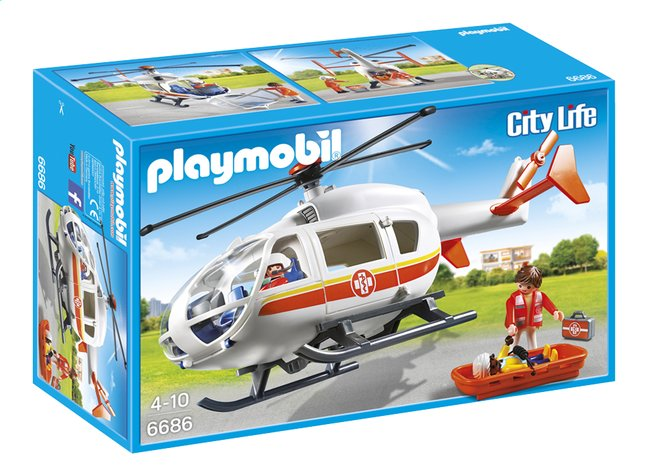 Afbeelding van PLAYMOBIL City Life 6686 Traumahelikopter from DreamLand