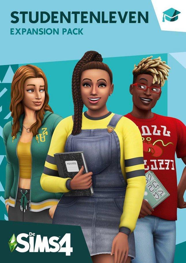 PC De Sims 4 Studentenleven Expansion Pack NL