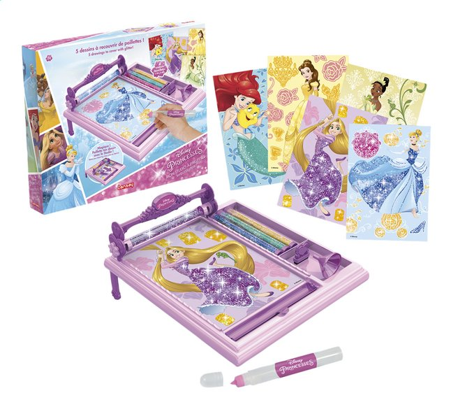 Image pour Lansay Disney Princess Mon studio à paillettes à partir de DreamLand