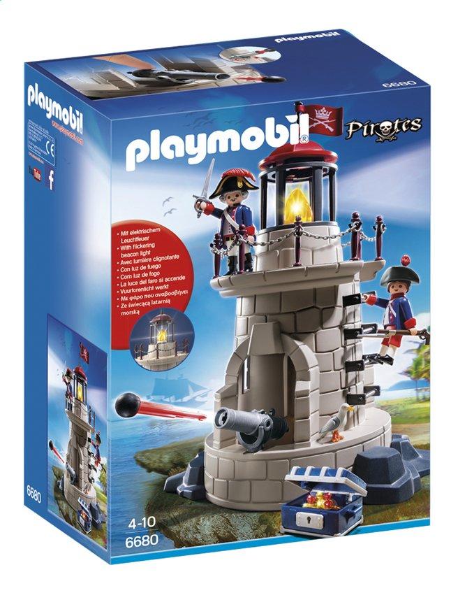 Afbeelding van Playmobil Pirates 6680 Soldaten met vuurtoren from DreamLand