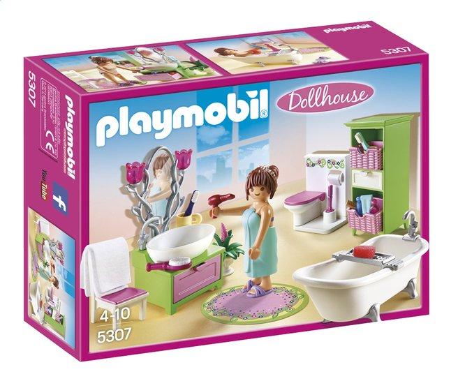 Afbeelding van Playmobil Dollhouse 5307 Badkamer met bad op pootjes from DreamLand