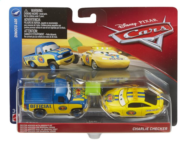 Auto Disney Cars 3 Dexter Hoover & Charlie Checker