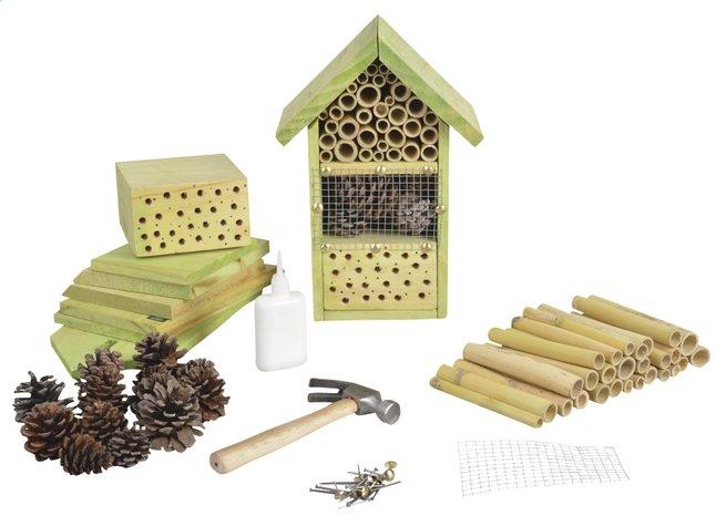 Hôtel à insectes à construire