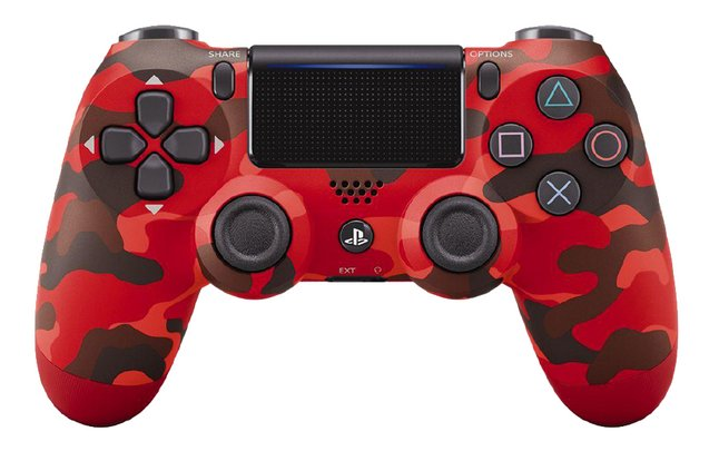 Afbeelding van Sony controller PS4 Dualshock 4 Red Camouflage from DreamLand