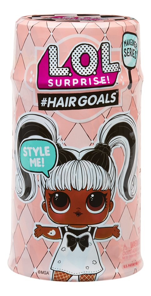Minipoupée L.O.L. Surprise Makeover series #Hairgoals Série 2