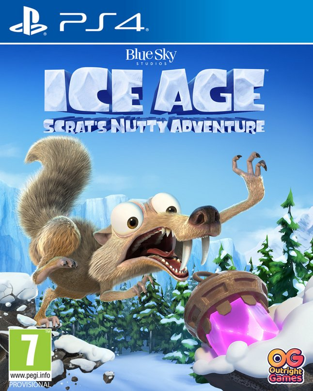 PS4 Ice Age Scrat's Nutty Adventure ENG/FR