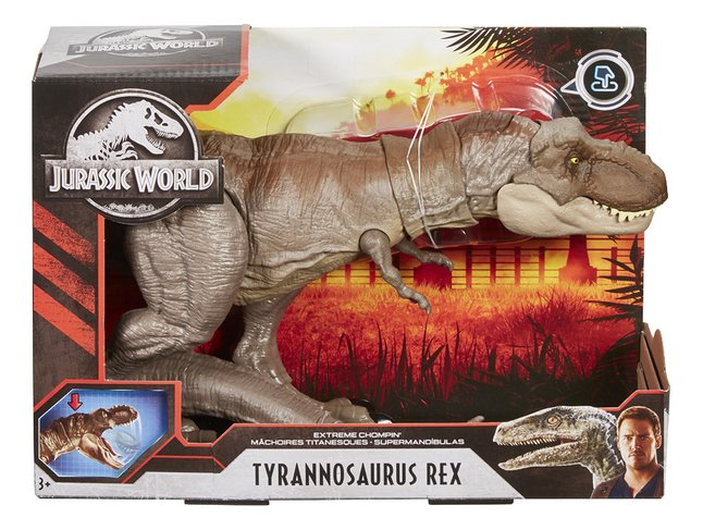 Jurassic World figuur Extreme Chompin' Tyrannosaurus Rex
