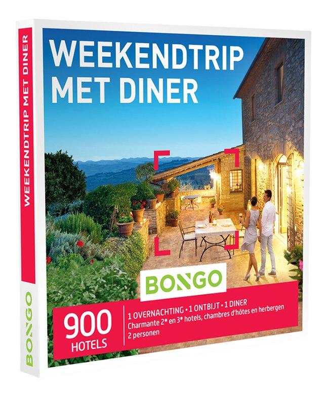Afbeelding van Bongo cadeaubon Weekendtrip Met Diner from DreamLand