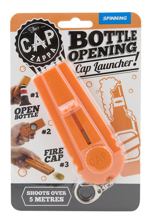 Afbeelding van Bieropener Cap Zappa oranje from DreamLand