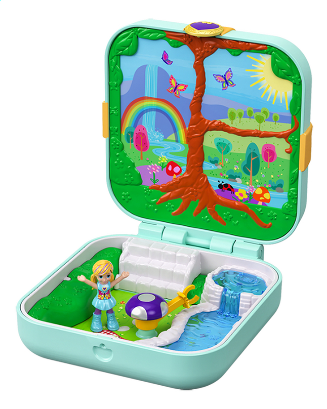 Polly Pocket speelset Hidden Hideouts Flutteriffic Forest