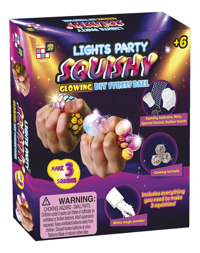 Lights Party Squishy Glowing Diy Stress Ball