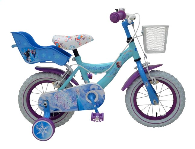 Image pour Vélo pour enfants Disney La Reine des Neiges 14