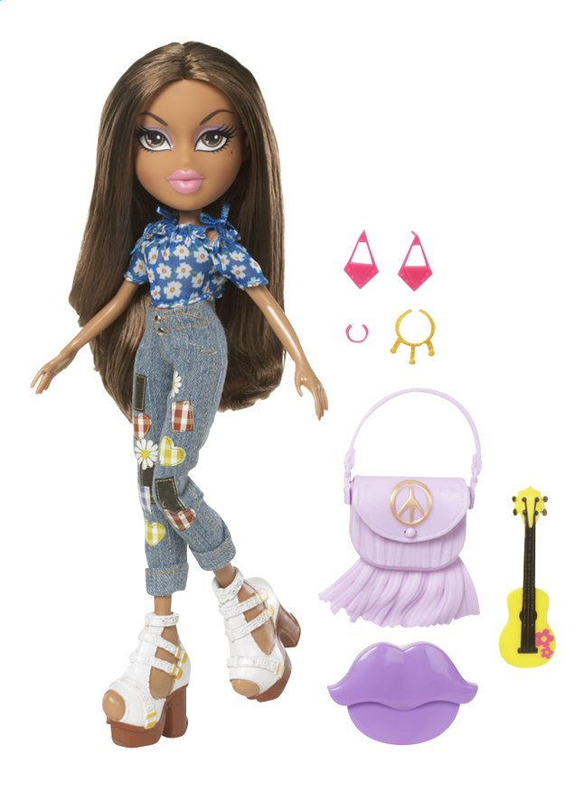 Afbeelding van Bratz mannequinpop Hello My Name Is Yasmin from DreamLand