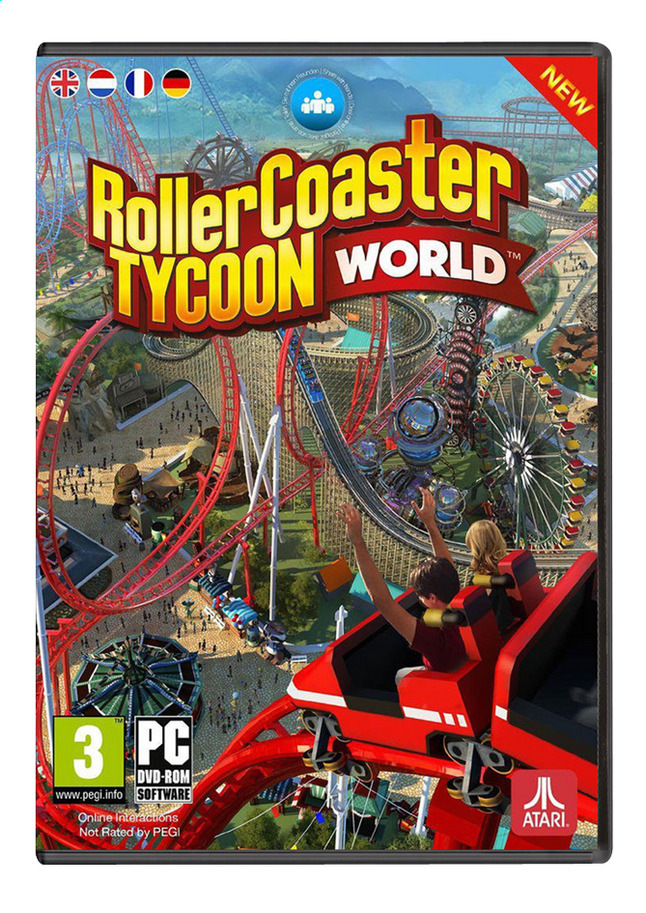 Afbeelding van Pc Roller Coaster Tycoon World  (Windows ) ENG/FR from DreamLand