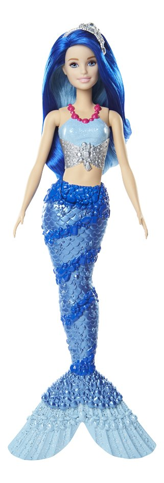 Barbie mannequinpop Dreamtopia Zeemeermin met blauwe staart