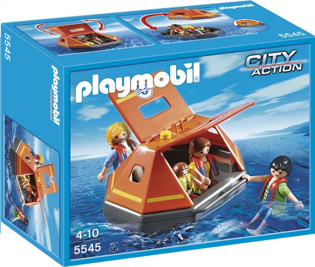 Afbeelding van Playmobil City Action 5545 Reddingsvlot met drenkelingen from DreamLand