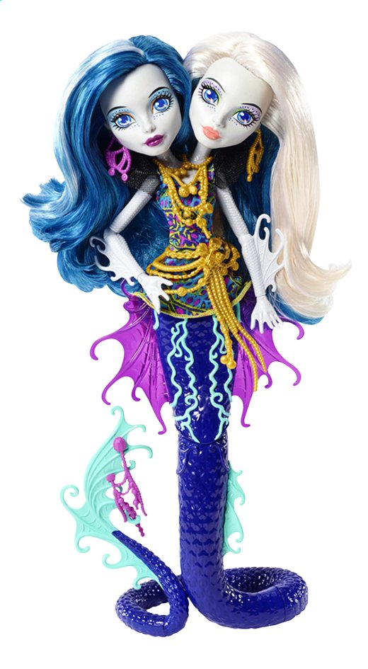Image pour Monster High poupée mannequin  La grande barrière des frayeurs Peri & Pearl à partir de DreamLand
