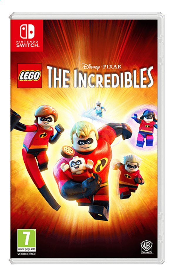 Nintendo Switch LEGO The Incredibles FR/ANG