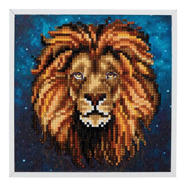 Afbeelding van Craft Buddy Crystal Art kit Lion from DreamLand