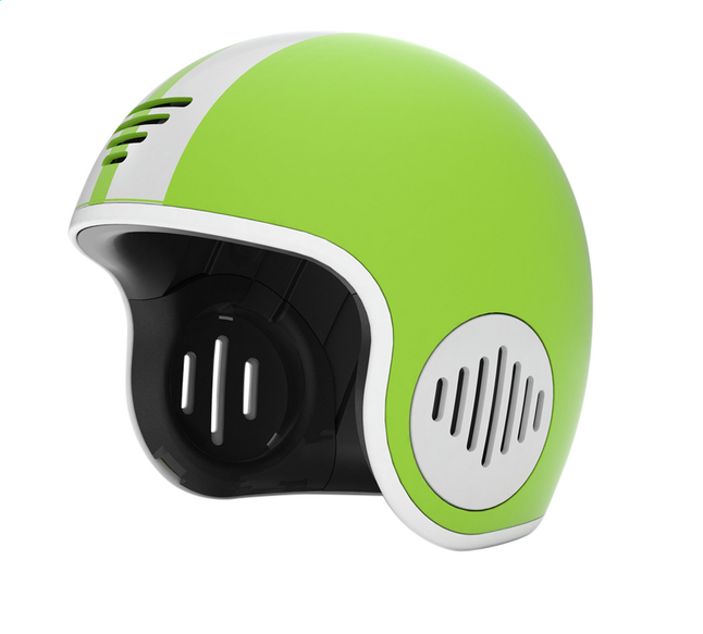 Chillafish kinderhelm Bobbi lime