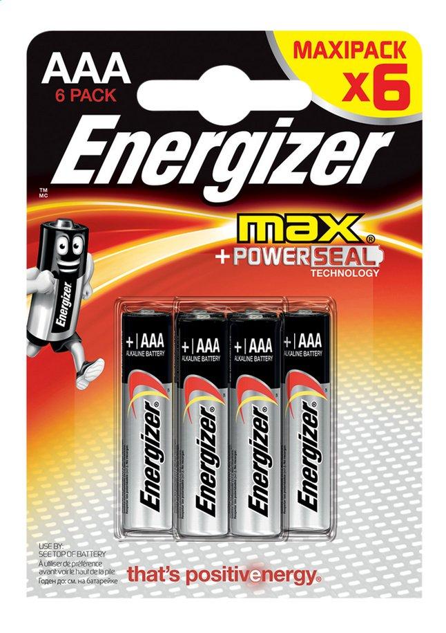 Image pour Energizer Max 6 piles AAA à partir de DreamLand