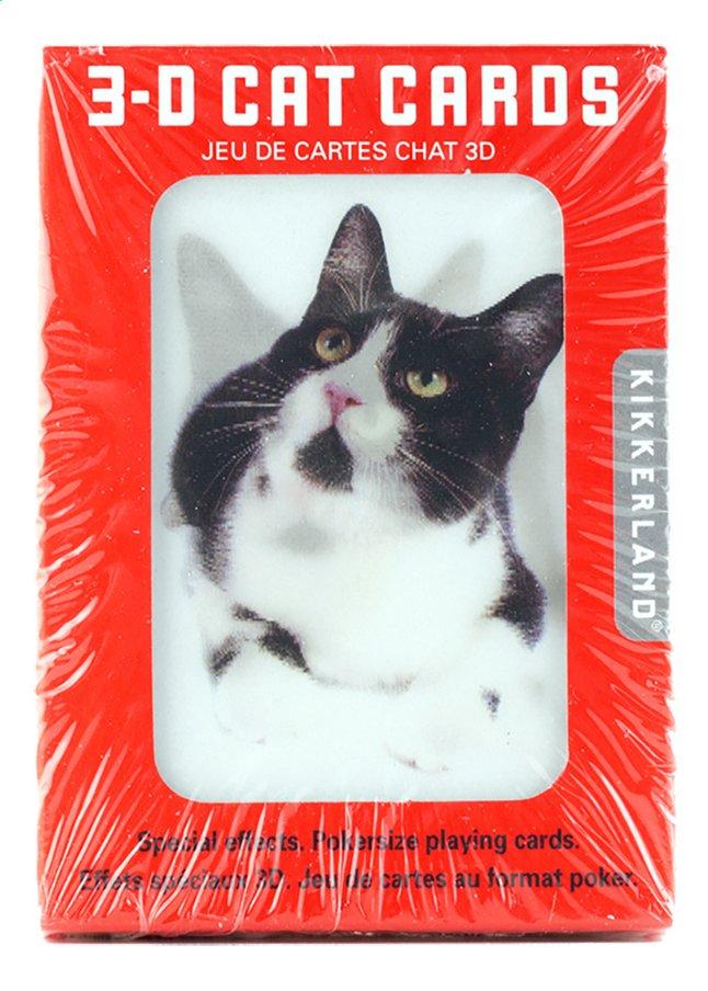 Afbeelding van Kikkerland speelkaarten 3D katten from DreamLand