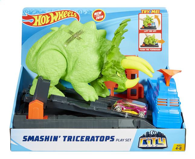 De Smashin' Set City Jeu Hot Triceratops Wheels 9YIWDeHE2
