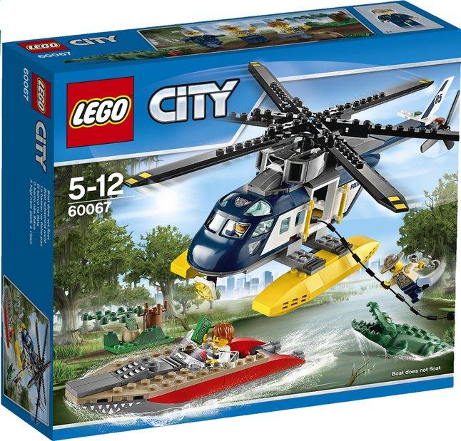 Image pour LEGO City 60067 La poursuite en hélicoptère à partir de DreamLand