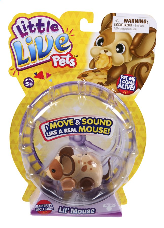 Afbeelding van Robot Little Live Pets Lil' Mouse Crumbs from DreamLand