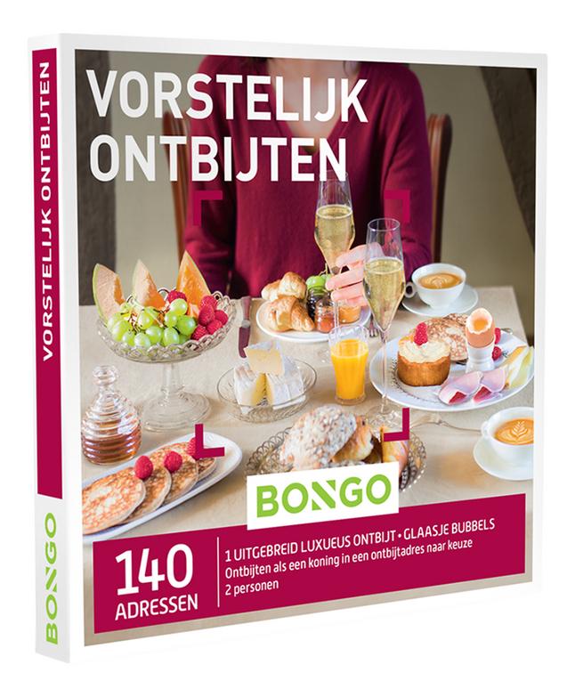 Afbeelding van Bongo cadeaubon Vorstelijk Ontbijten from DreamLand