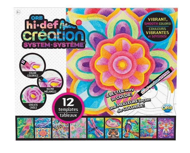 Afbeelding van The Orb Factory Hi Def Creation levendige kleuren navulling Jungle from DreamLand