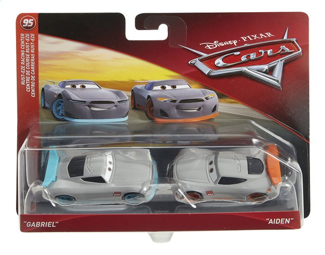 Auto Disney Cars 3 Gabriel & Aiden
