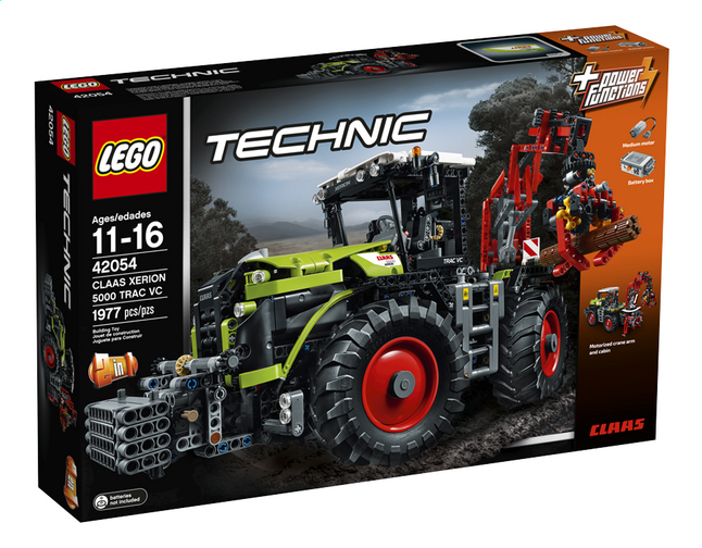 Afbeelding van LEGO Technic 42054 Claas Xerion 5000 Trac VC from DreamLand