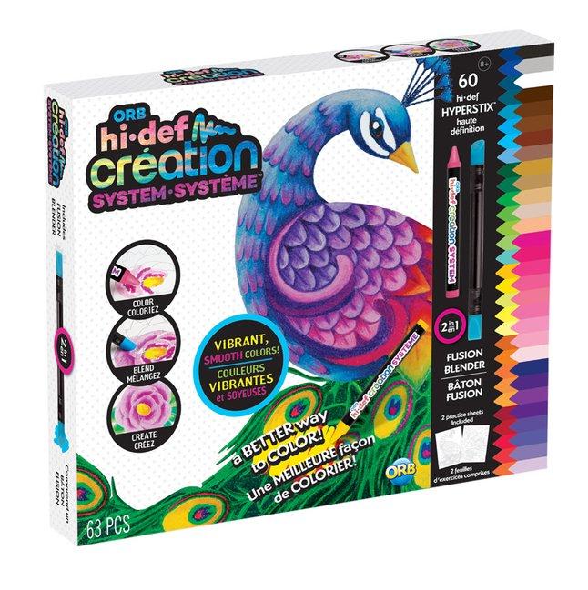 Afbeelding van The Orb Factory hi-def Creation levendige kleuren - 60 hyperstix from DreamLand