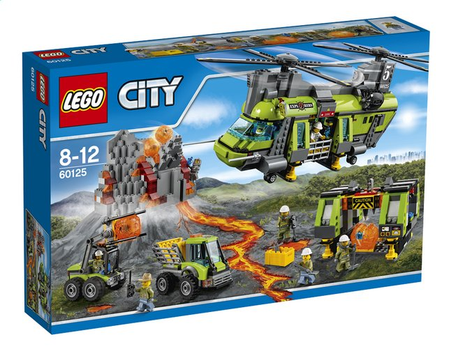 Afbeelding van LEGO City 60125 Vulkaan zware vrachthelicopter from DreamLand