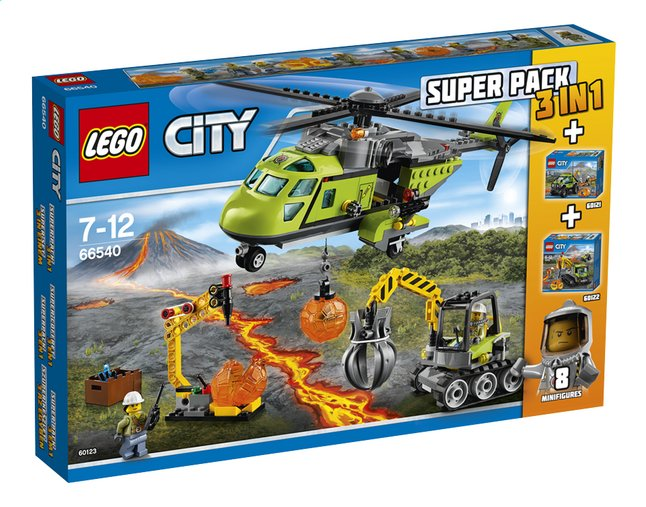 Afbeelding van LEGO City 66540 Super Pack 3-in-1 from DreamLand