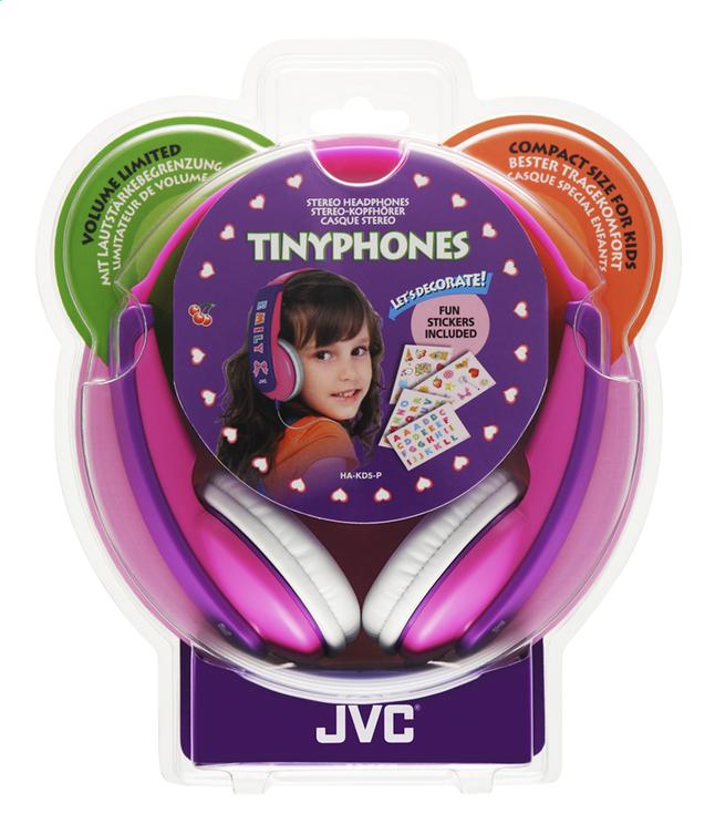 Afbeelding van JVC hoofdtelefoon HA-KD5 voor kinderen roze/paars from DreamLand