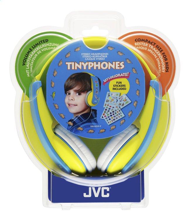 Afbeelding van JVC hoofdtelefoon HA-KD5 voor kinderen geel/blauw from DreamLand